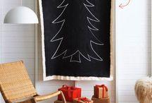 Árbol de Navidad en la pared / by tururu (x4duros)