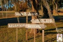 Ideas for Melinda's Wedding / by Carole van Wulven