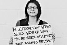 Feminism 2.0 / by AnushaysPoint
