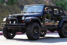 Jeeps.  / by Megan Smith