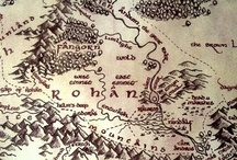 The Road Goes Ever On / Tolkien and his worlds / by Holly Kraus