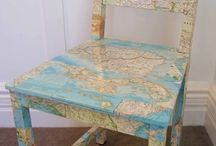 mapped out / by Scarlett Scales-Tingas (Scarlett Scales Antiques)