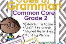 2nd Grade {Grammar} / by Robyn Wood