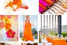 Pantone Color of Year 2012 - Tangerine Tango / by Posh & Private Event Design