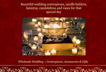 Wedding Ideas, Wholesale Wedding Centerpieces, Candle Holders, Lanterns & Candelabras / Wholesale wedding centerpieces, candle holders, lanterns, and candelabras for weddings, receptions and parties.. Wholesale lanterns for spa and resorts. We ship to Canada! / by Christine Nagy
