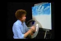 Bob Ross Painting / by Ellen Lefler