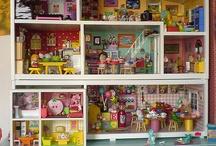 Doll house  / by Morgan Patrenos
