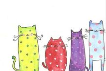 cats / by Claire Lelong-Le Hoang