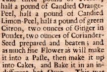 Historical Recipes / by Robyn Cruz-hawkins