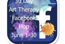 30 Day Art Therapy Facebook Hop / Beginning June 1st, 2014 The Art Therapy Alliance will be hosting a 30 Day Art Therapy Facebook Hop @ https://www.facebook.com/ArtTherapyAlliance. Each day of the month will feature a different art therapy Facebook Page from all over the world!  This is a collection of the Featured pages participating in the Hop! / by ArtTherapy Alliance