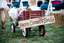 Country Lovin' / A wedding from the good ol' south. From southern Cowboys to finding your needle in the Haystack, this board has everything you need to create your Country Wedding. / by RD I Do