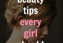 Beauty Tips / by Tammy Adkins Sellards