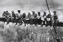 Empire State Building, construction / by Cookie Welz-Cass