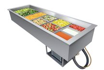 Product Category: Refrigerated Well & Frost Top / Hatco Refrigerated Drop-In Wells keep pre-chilled food products at safe serving temperatures. Unique top angled inside wall design allows cold air to effectively blanket your food product to keep the food optimally cold and fresh. Convenience meets style with Hatco's Frost Tops, these units are perfect for quick turn products on self-serve buffets. / by Hatco Corporation