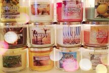 Candles! / Yummy scented candles / by Sarah Norman
