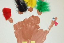 Thanksgiving Preschool Crafts / by Cathy Halfacre