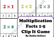 Multiplication-Action Research / by Robyn Wood