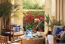 Seaside Outdoor Spaces / by Seaside Decor Boutique