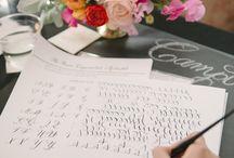 Laura Hooper Calligraphy Workshop by Karson Butler & Abby Jiu / by Laura Hooper