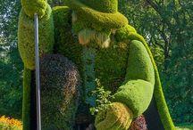 Unique Unreal Topiaries / Fabulous topiaries around the world. / by Klehm Arboretum & Botanic Garden
