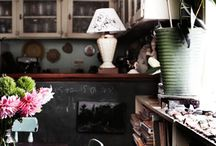la chic / home scenes that make me green / by Katie Fagan