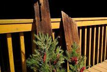 Kerstbord twee / Kerst stukjes  / by Siny Veldkamp