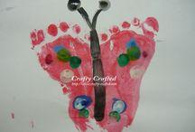 Handprints Footprints Fingerprints / by Marah Cluff