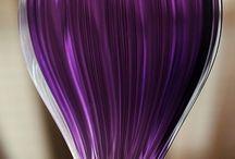 Color Wheel: VIOLET / All things VIOLET: Amethyst. Byzantium. Cerise. Eggplant. Fandango. Fuchsia. Heliotrope. Indigo. Lavender blush. Lavender (floral). Magenta. Orchid. Plum. Purple. Red-violet. Rose. Thistle. Violet. Wisteria.  / by Katy Proudfoot