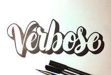 Lettering / by Becca Barton