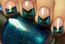 Nail designs / by Heather Lott
