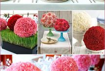 centerpieces / by Nicole Thibeault Merry