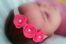 DIY : Little Girls Headbands & Bows / Do it yourself hair bows for little girls. / by Fran H