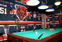 Sports Caves / For those who like to proudly show off their team spirit and engulf themselves in all things sports. / by Chicago Sports Cave