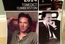 Benedict Cumberbatch / by Kayla Sklener