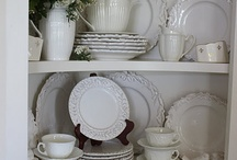 Collection-Whiteware / by Kathleen Boland (Pro Organizer)