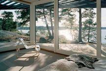 Swedish/Modern Homes / by Rita Shewbridge