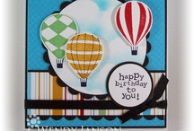 .Cards-Airplanes/ Air Balloons/ Kites / by Chatterbox Creations (Carlene Prichard)