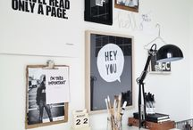 In House // Work Space / by The Pretty Secrets