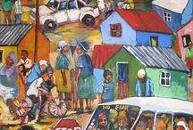 Art  / Appreciation. Admiration.Inspiration. African Art. African Artists.Art. / by Grace & Elie