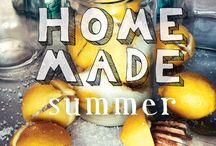 Homemade Summer / A collection of sun-drenched dishes from the delightful Yvette Van Boven in a companion volume to Home Made and Home Made Winter. #homemadesummer / by ABRAMS