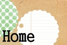 Home: Bits & Pieces / Furniture, drapes, & displays! / by Jaime Hamilton