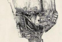 Illustration / by Jordan Shone