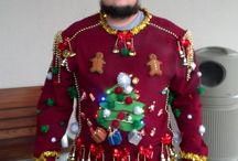 Ugly Christmas sweater inspiration / by Brittany Vickers