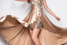 prom dresses / by Roxanne MacMillan