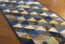 Quilting: Table Runners & Toppers / Table runners; bed runners; table toppers / by Seri Dreiling