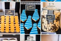 mustache party ideas / by Shelby Stevens