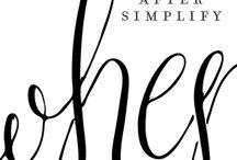 Calligraphy / by Megan Lipke Kenney
