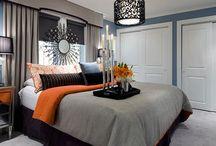 gray blue orange  / by Tiara Valentino-Perkins