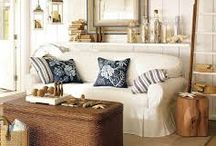 Coastal theme for the house / by Phoebe North Anderson