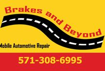 Brakes And Beyond / Brakes and Beyond is a family owned mobile automotive repair business that aims to provide honest labor and reliable service that comes to you at your home, work, or where ever your car needs repair. / by Anna Gallop